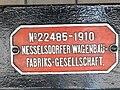 Typenschild der alten Rittnerbahn (Nesselsdorfer Wagenbau).jpg
