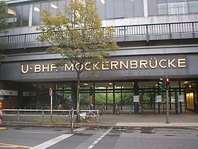 Image illustrative de l'article Möckernbrücke (métro de Berlin)