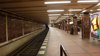 Mohrenstraße (Berlin U-Bahn) - Image: U Bahnhof Mohrenstr