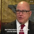 File:U.S. National Security Adviser General H.R. McMaster comments on the Iran pro....webm