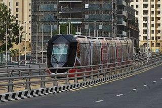 Dubai Tram tram system