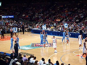 NIT Season Tip-Off - North Carolina vs. Tennessee, Third Place Game, November 24, 2006