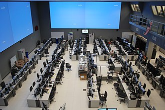 Air and Space Operations Center - USAFCENT CAOC at Al Udeid Air Base, Qatar, 2009