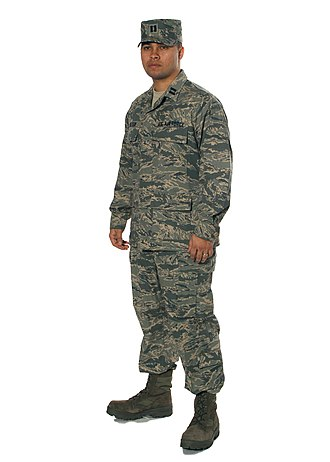 Patrol cap - Image: USAF Airman Battle Uniform