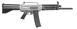 Daewoo Precision Industries USAS-12 - The Daewoo Precision Industries USAS-12 automatic shotgun.