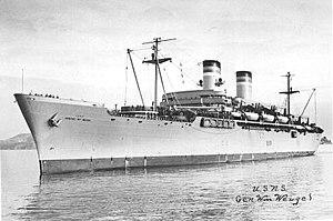 USS General General William Weigel (T-AP-119)