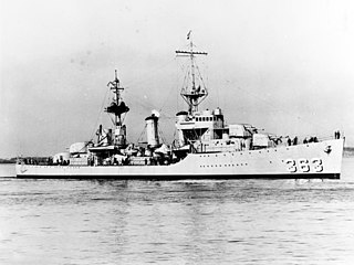 <i>Porter</i>-class destroyer Destroyer class of the US Navy