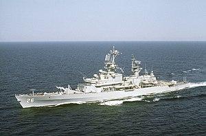 USS Belknap (official photo)