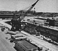 USS Carpenter (DD-825) during FRAM refit at Pearl Harbor Navy Yard 1961.jpg