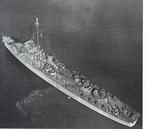 USS Foreman (DE-633) on 13 November 1943 (19-N-200662)