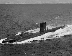 USS Grayback (SSG-574) - Grayback (LPSS-574), underway, c. 1968
