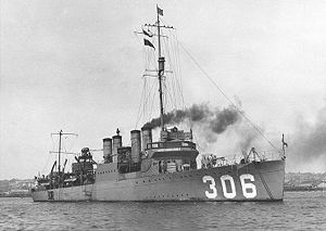 USS Kennedy (DD-306)
