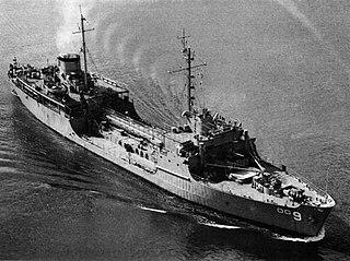 USS <i>Kishwaukee</i> (AOG-9) Patapsco-class gasoline tanker