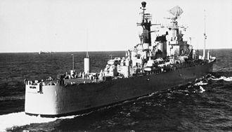 USS Triton (SSRN-586) - USS Northampton  (1960)