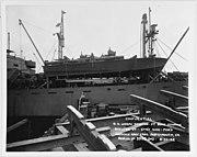 USS PT-109 on board SS Joseph Stanton
