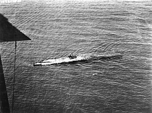 USS R-3 surfacing, circa 1920