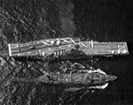 USS Tolovana (AO-64) refueling USS Bennington (CVS-20) 1966.jpg