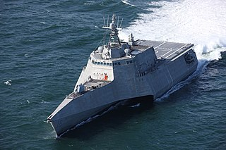 USS <i>Tulsa</i> (LCS-16) Independence-class littoral combat ship of the United States Navy
