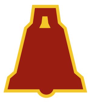 XIX Corps (United States) - Image: US Army XIX Corps SSI 1935 1943