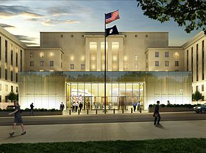 United States Diplomacy Center - Image: US Diplomacy Center rendering
