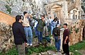 US Navy 030101-N-4953E-003 Souda Bay, Crete, Greece (Jan. 1, 2003) - Sailors and Marines enjoy a guided tour of the Gouverneto Monastery.jpg