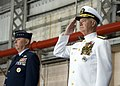 US Navy 071130-N-8623G-056 Adm. Timothy Keating, commander, U.S. Pacific Command, salutes during the playing of the Navy song.jpg