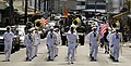 US Navy 091107-N-7498L-127 Sailors assigned to the U.S. Pacific Fleet Band march in a Veteran's Day parade.jpg