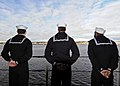 US Navy 100118-N-1082Z-020 Sailors man the rails aboard the amphibious dock landing ship USS Ashland (LSD 48) as the ship departs Joint Expeditionary Base Little Creek-Fort Story.jpg