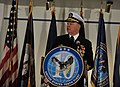 US Navy 100129-N-8273J-019 Chief of Naval Operations (CNO) Adm. Gary Roughead is the keynote speaker at the commissioning ceremony for U.S. Fleet Cyber Command at Ft. George G. Meade, Md.jpg