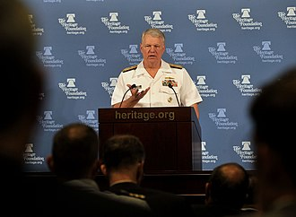 The Heritage Foundation - Chief of Naval Operations (CNO) Admiral Gary Roughead speaks at The Heritage Foundation.