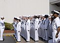 US Navy 100617-N-8113T-120 Hospital corpsmen assigned to U.S. Naval Hospital, Yokosuka recite the corpsman pledge.jpg