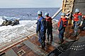 US Navy 111006-N-MW330-731 Sailors prepare to assist Marines assigned to the 31st Marine Expeditionary Unit.jpg