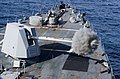 US Navy 171105-N-LN093-1068 USS Michael Murphy fires its Mark 45 5-inch gun.jpg