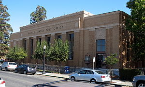 United States Post Office (Napa, California) - The post office in 2010
