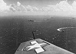 US carrier task force en route to Wake Island in October 1943.jpg