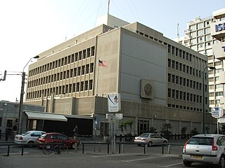 Tel Aviv Branch Office of the Embassy of the United States United States embassy branch located in Tel Aviv, Israel