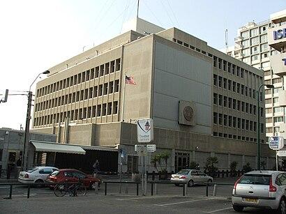 איך מגיעים באמצעות תחבורה ציבורית אל שגרירות ארצות הברית? - מידע על המקום