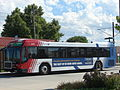 UTA bus at West Jordan City Center Station.JPG