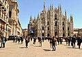 Un inverno solare in Piazza del Duomo a Milano.jpg