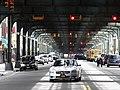 Underneath the Elevated Train - Borough Park - Hasidic District - Brooklyn - New York - USA (10389328033).jpg