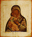 Unidentified artist - Madonna of Tenderness with Child - Google Art Project.jpg