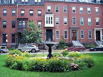 South End, Boston - Image: Union Park 4
