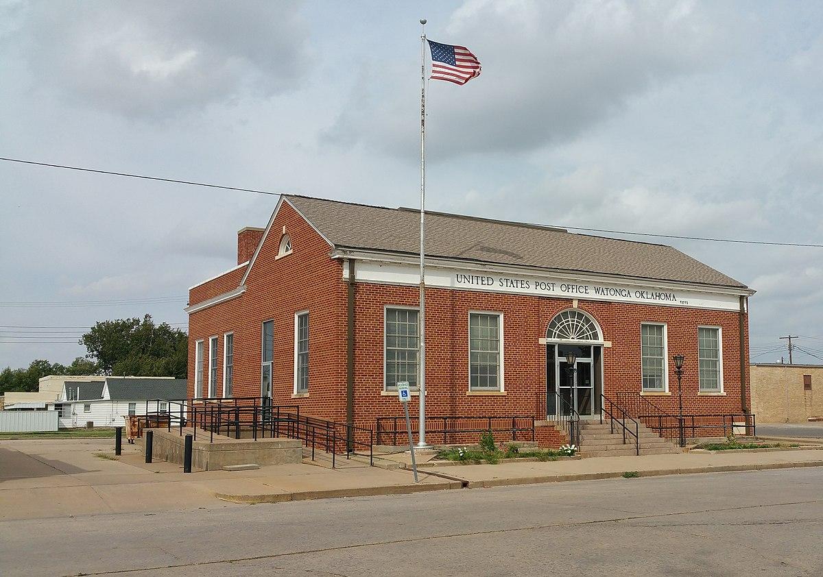 United states post office watonga wikipedia - United states post office ...