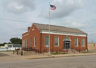 United States Post Office Watonga - Image: United States Post Office Watonga