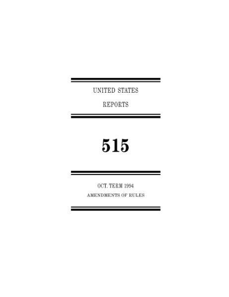 File:United States Reports, Volume 515.djvu