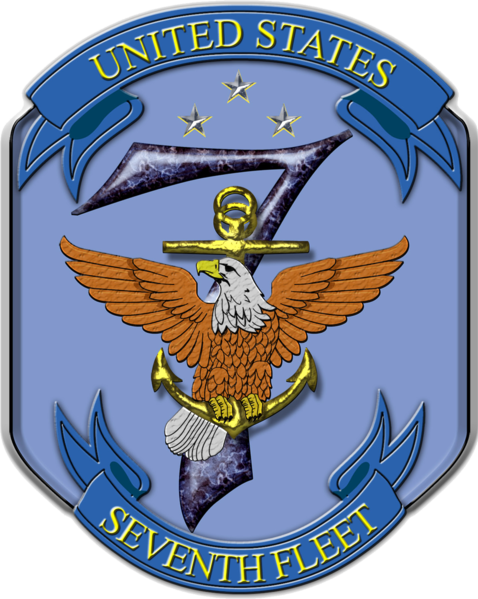 Archivo:United States Seventh Fleet insignia, 2016.png