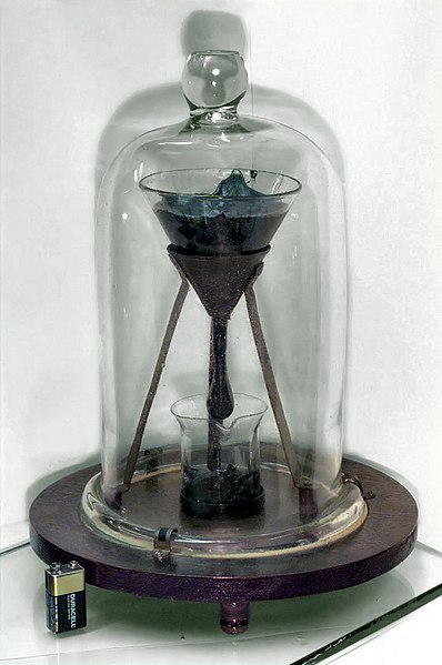 Bestand:University of Queensland Pitch drop experiment-6-2.jpg