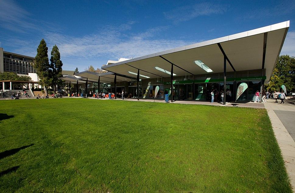 University of Waikato village green