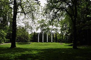 Sylvan Grove Theater and Columns - The Sylvan Grove Theater, with the columns in the background.
