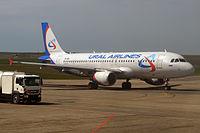 VP-BIE - A320 - Ural Airlines